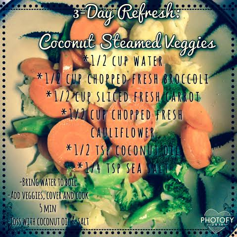 3-Day Refresh: Day 2 Dinner Recipe
